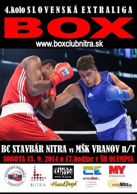 10b32a292f536 Boxeri v sobotu proti Vranovu - Šport a relax | moja Nitra