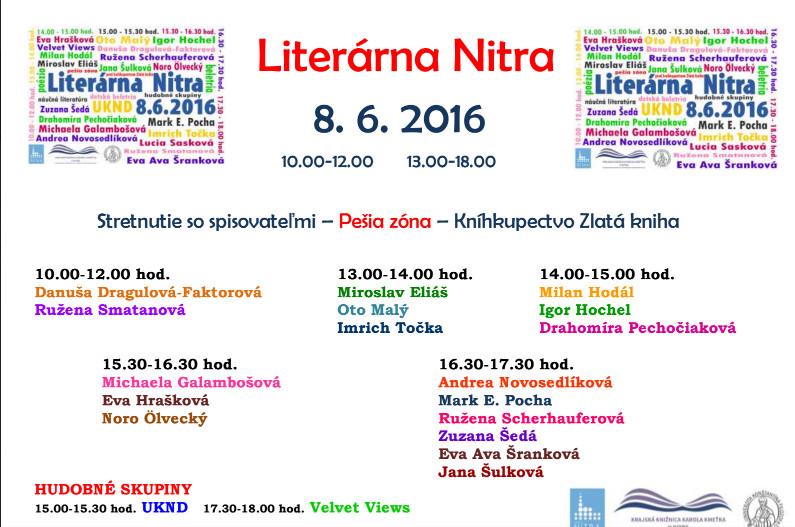 a26a9917b Literárna Nitra - Kam v meste | moja Nitra