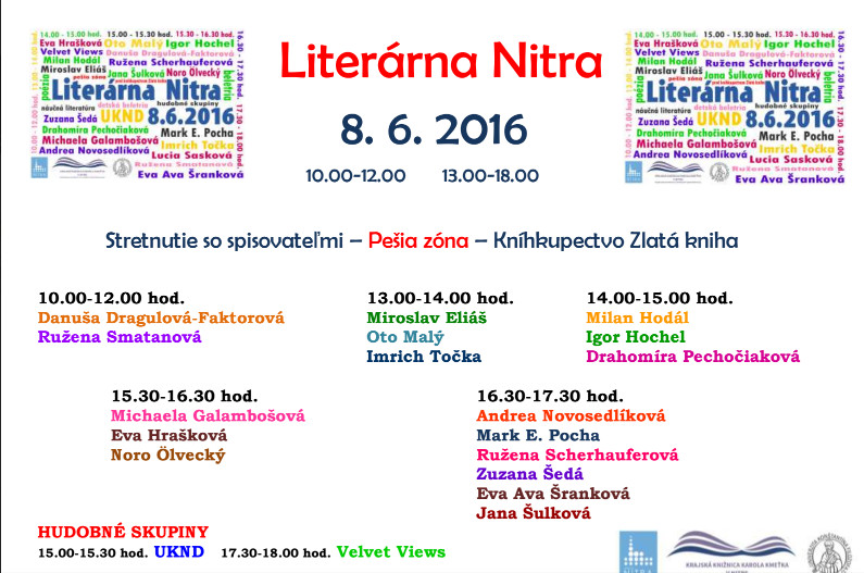 763efd9fc014 Literárna Nitra - Kam v meste